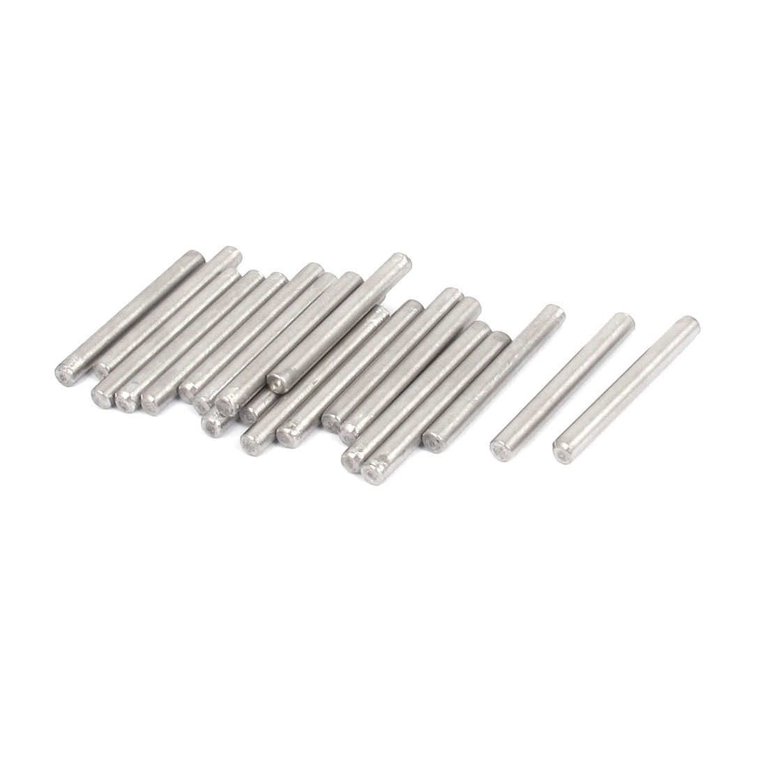 3mmx28mm 304 Stainless Steel Parallel Dowel Pins Fastener Elements 20pcs