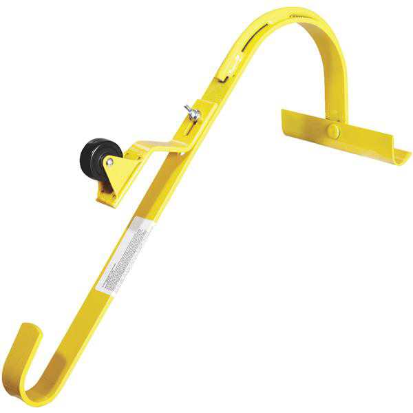 Acro Building Systems 11082 Roof Ridge Ladder Hook With Wheel