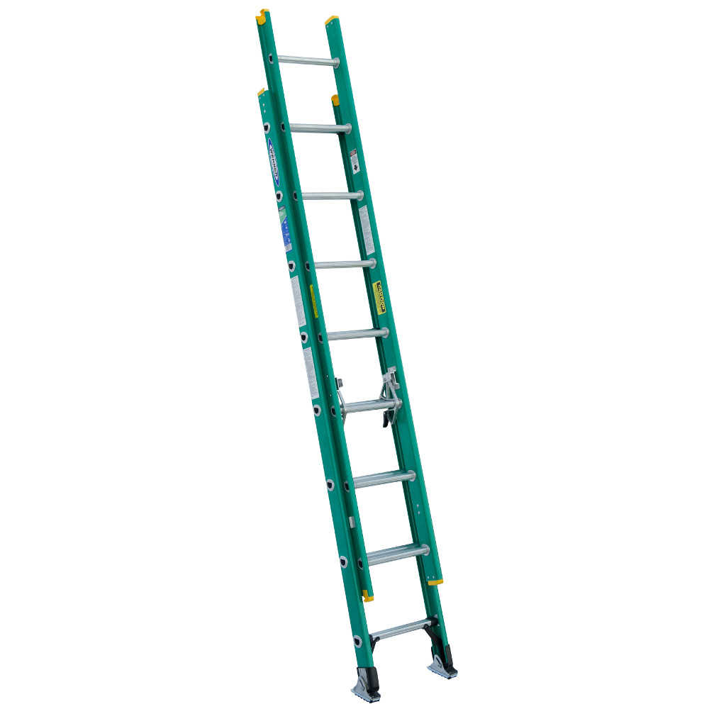 Werner D5916-2 16' Fiberglass Extension Ladder