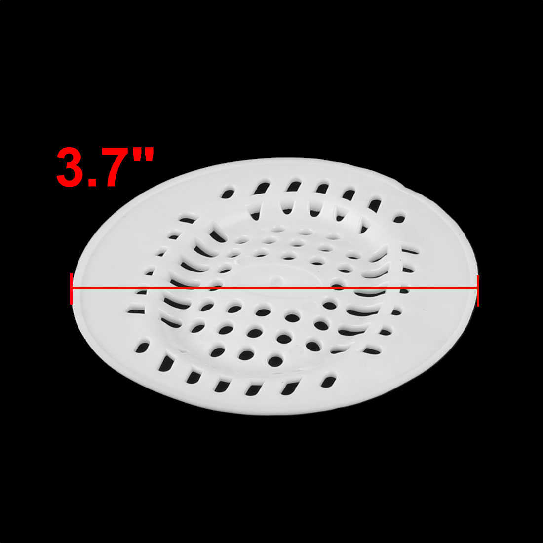 Bath Shower Kitchen Waste Hair Rubber Sink Strainer Drain Filter Stopper Catcher