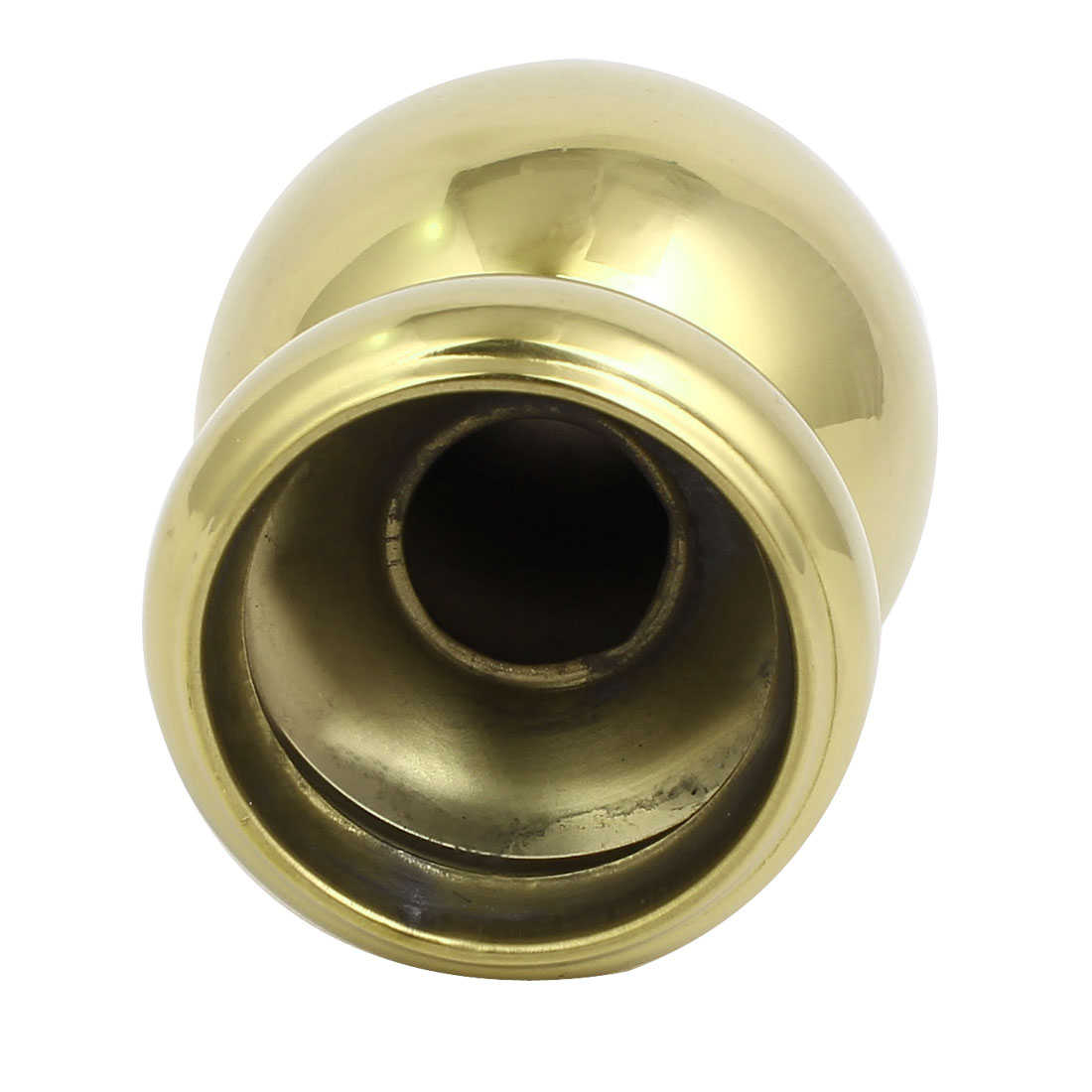 51mm Ball Top Cap 304 Stainless Steel Gold Tone for Stair Newel Fence Post
