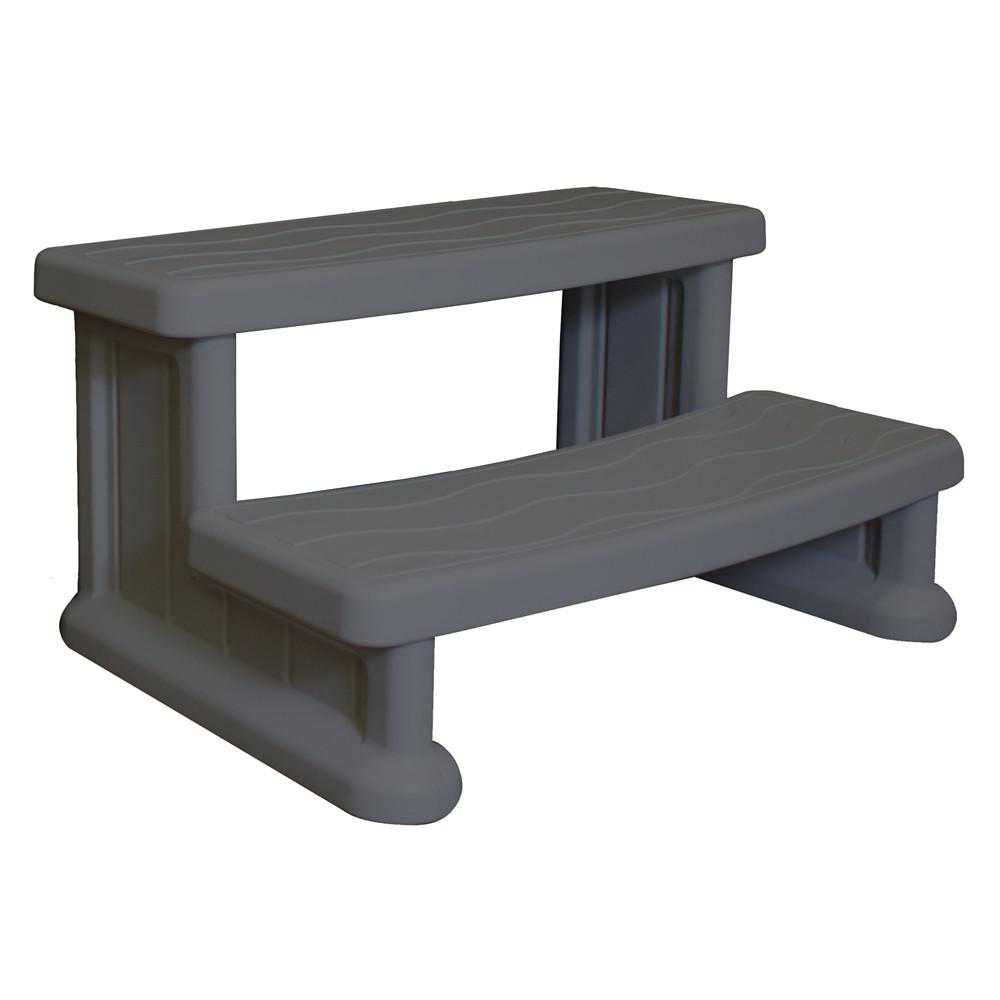 BlueWave Products SPAS AND ACCESSORIES NP5402 Economical Spa Side Step-Grey