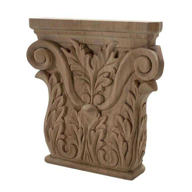 American Pro Decor 5APD10435 Small Carved Wood Applique