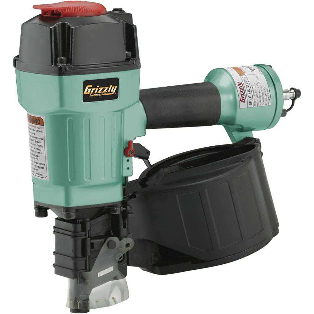 Grizzly H8231 1-3/4'-2-3/4' Coil Nailer