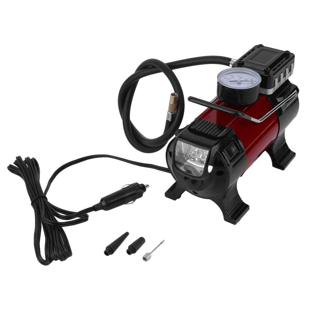 Heavy Duty Portable Air Compressor for Tires and Tire Inflators Pump 12V