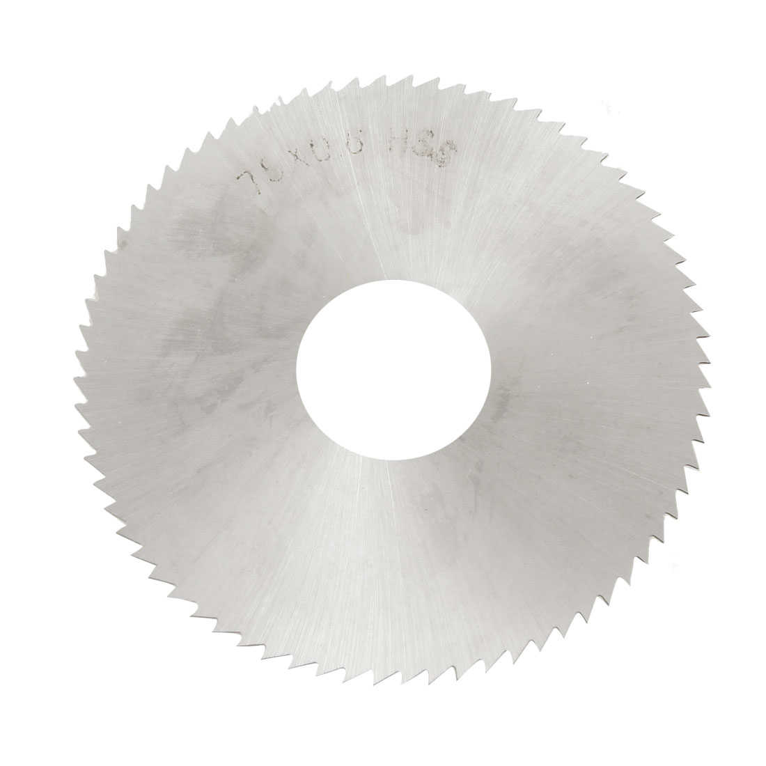 Unique Bargains 72 Teeth HSS 75mm x 22mm x 0.6mm Circular Slitting Saw Cutter