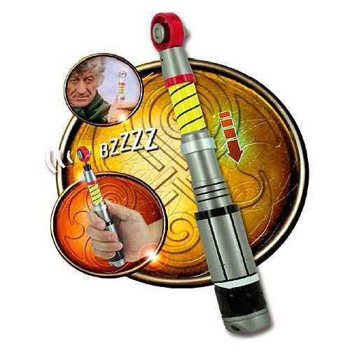 Doctor Who: 3rd Doctor's Sonic Screwdriver