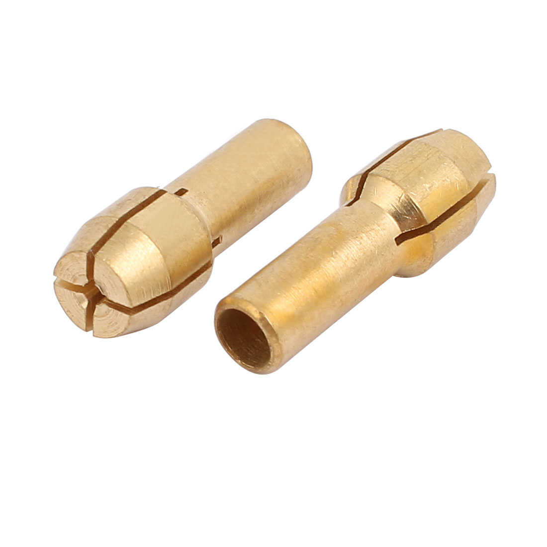 10pcs 0.5mm Clamping Dia Brass Qucik Change Collet Nut for Rotary Power Tool