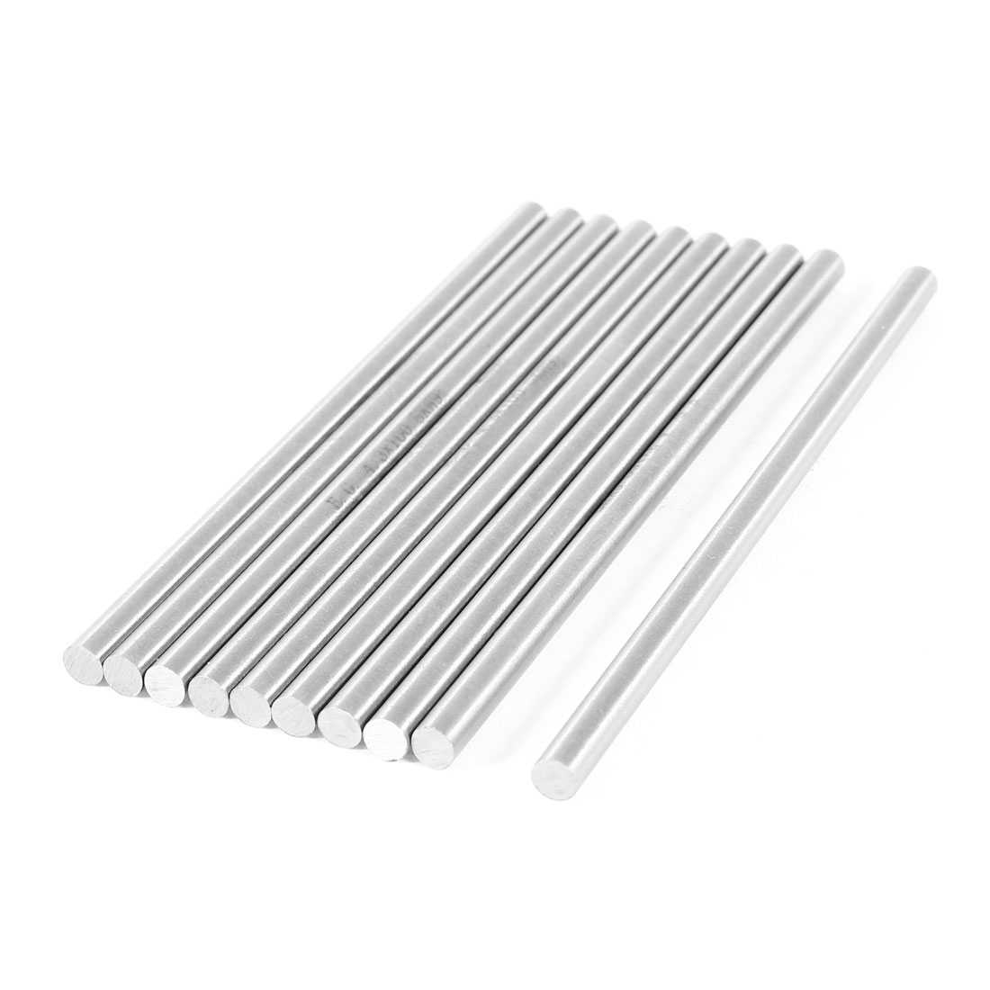 Unique Bargains CNC Lathe Part High Speed Steel Turning Bars 4.3mm x 100mm 10 Pcs