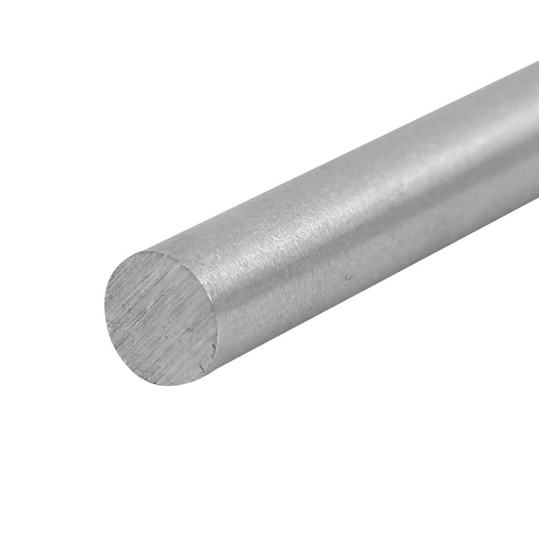 8mm Dia 200mm Length HSS Round Shaft Rod Bar Lathe Tools Gray 2pcs