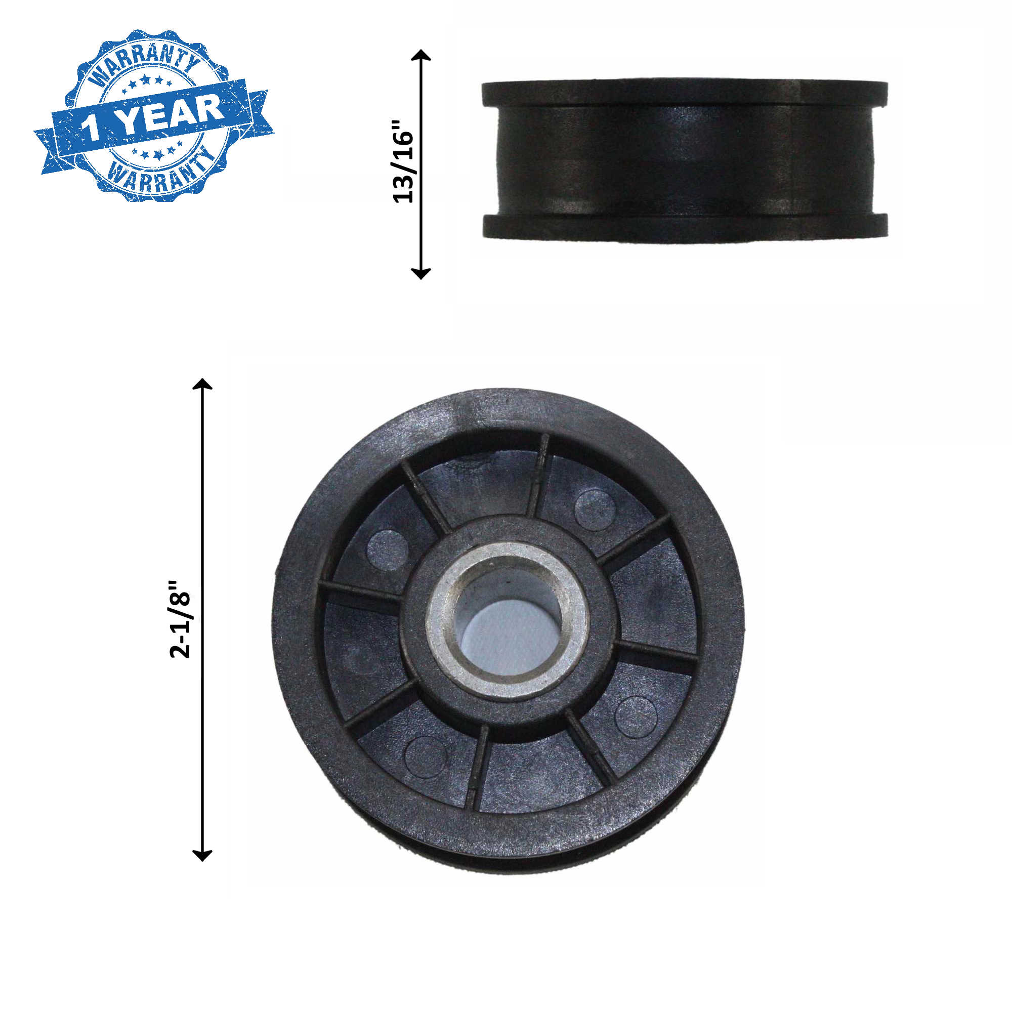 Supplying Demand Y54414 Dryer Idler Pulley 14218926, R0609504, 54414, AP6024203