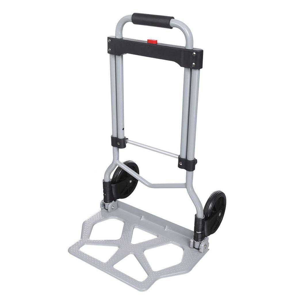 Aluminum Heavy Duty Folding Hand Truck Luggage Cart (220lb) BETT