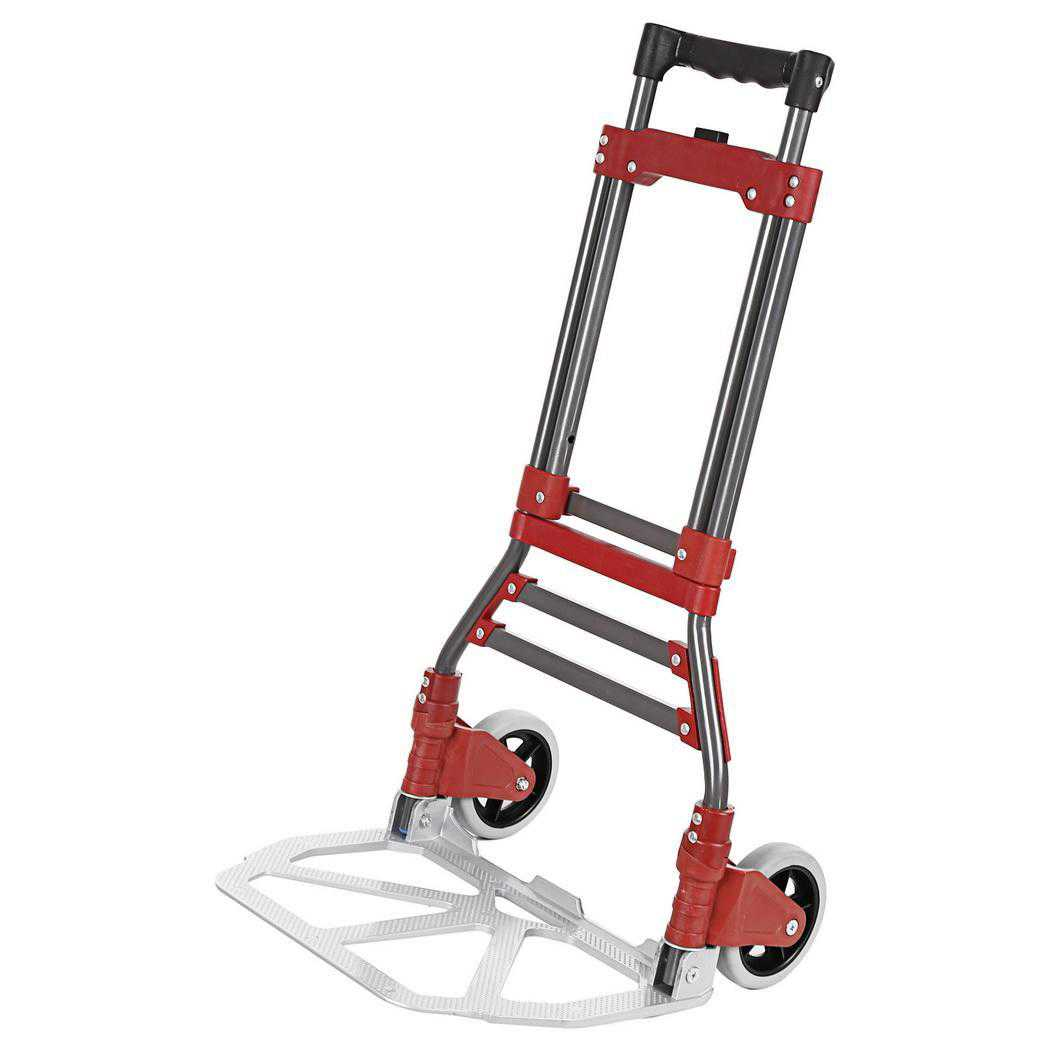 Elecmall Aluminum Folding Dolly Hand Truck(165)Lbs