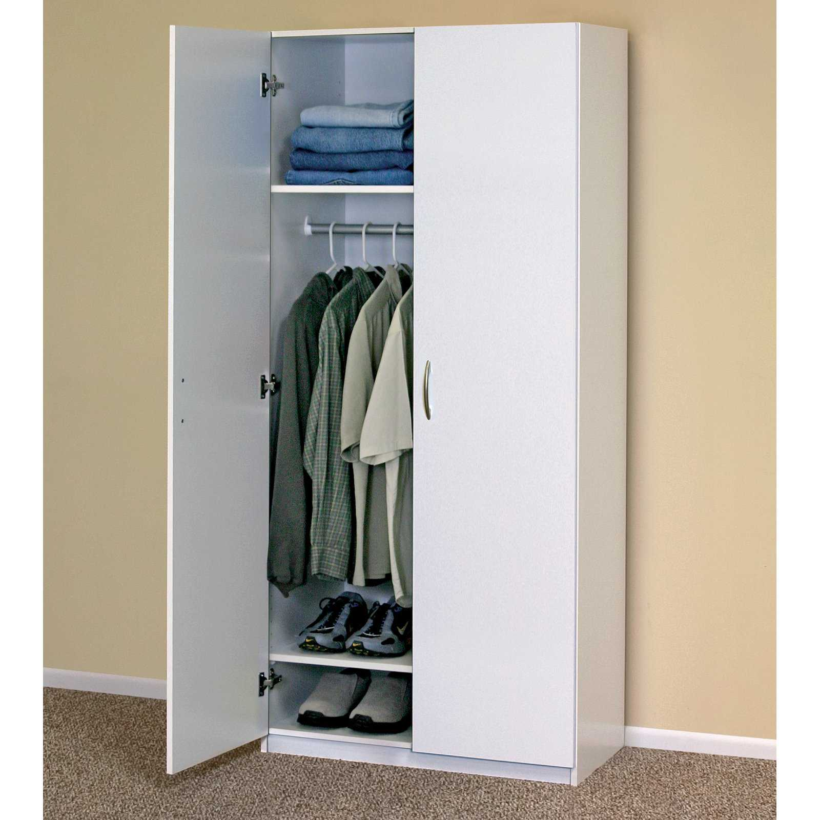 ClosetMaid Flat Panel 30 in. Freestanding Wardrobe Cabinet