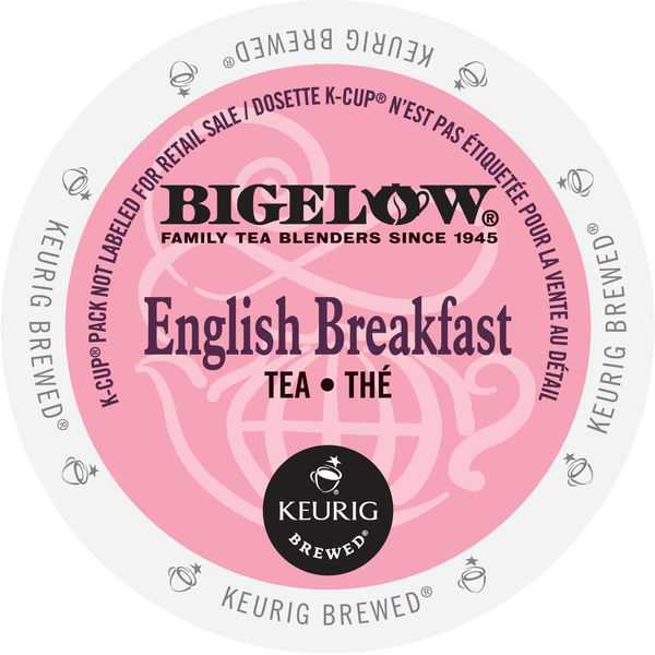 Bigelow English Breakfast Tea, K-Cups for Keurig Brewers 96 Count