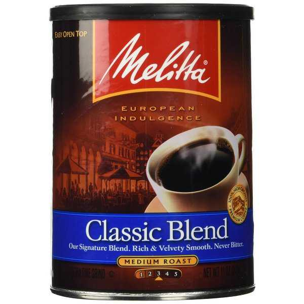 Melitta 60253 Classic Blend (Single Pack) 11 Ounce Classic Ground Coffee